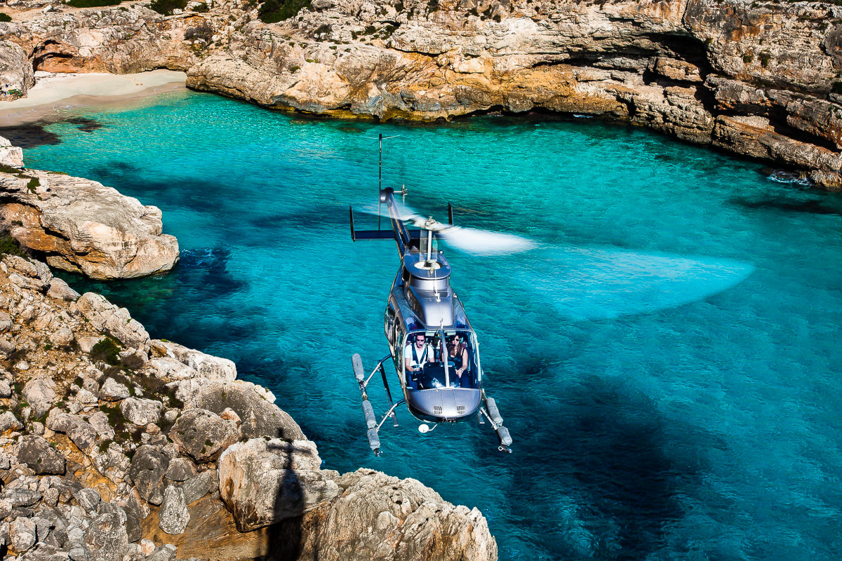 Mallorca, Helicopters